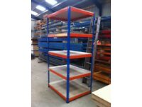 RAPID RACKING 5 TIER SHOP GARAGE CONTAINER WORKSHOP MINI RACKING SHELVING BAY