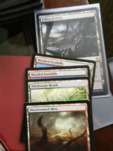 Magic The Gathering Card Collection Over 700$ Worth