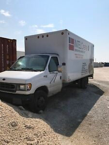 98 cube van shell and parts required tow