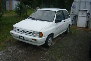 1991 Ford festiva Coupe (2 door)