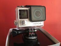 GoPro Hero 4 Camera and accessories.