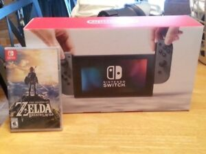 Nintendo Switch & Zelda:Breath of the Wild. Never Opened