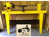 Perform Variable Speed Wood Turning Lathe with Stand