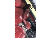 2008 AUDI A3 CONVERIBLE RED LEATHERS