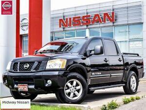 2012 Nissan Titan PRO-4X, Leather, Ranchero HD shocks