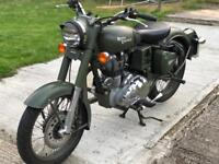 Royal Enfield Battle Green 500 CC
