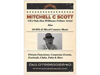 Mitchell C Scott Vocalist 50/60's & Country