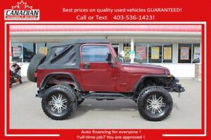 2002 Jeep TJ SE LIFTED ROLL CAGE REAL OFF ROADER!