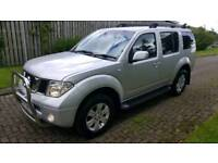 MINT 06 NISSAN PATHFINDER FULL HISTORY LEATHER 7 SEATER 4X4
