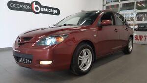 2008 Mazda Mazda3 GX, air conditionné, toit ouvrant, mags