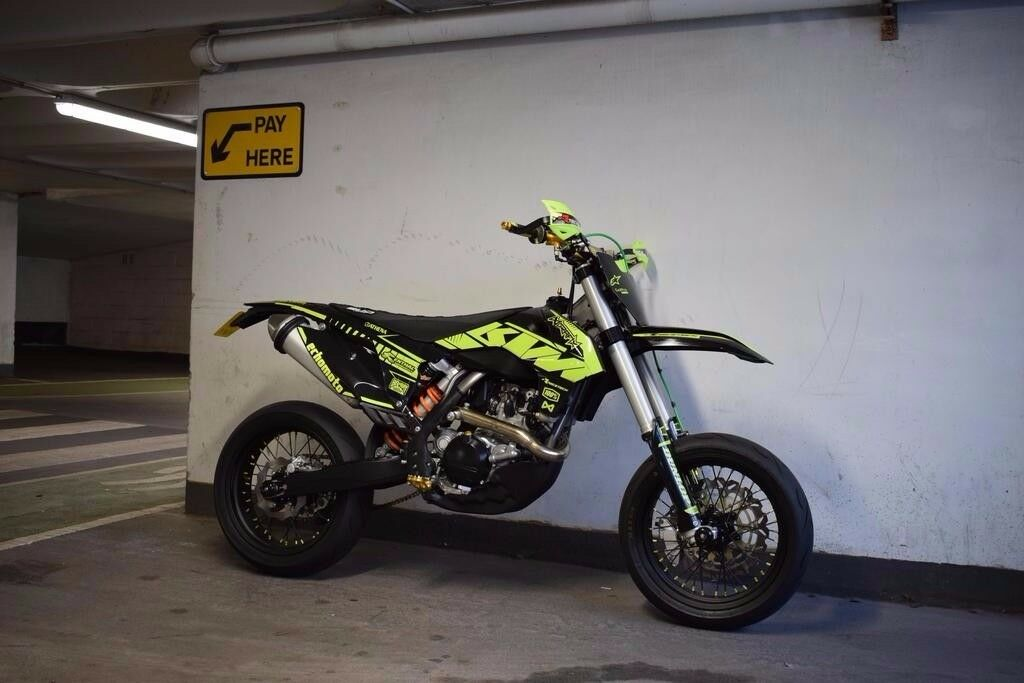 KTM 450 EXC SUPERMOTO 2014 IMMACULATE CONDITION | in Welwyn ...