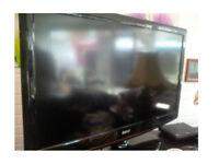 BAIRD 42 INCH TV FREEVIEW WITH REMOTE 4 HDMI SCART SOCKETS GOOD WORKING ORDER CAN BE SEEN WORKING
