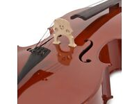 4/4 Size Cello with Case by Gear4music - Like new