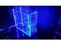ATX Acrylic Transparent PC Case