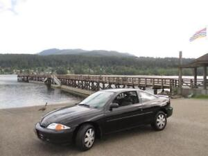 2001 Chevrolet Cavalier Coupe Black