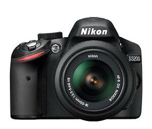Nikon D3200 camera with 50mm 1.8D lens for sale