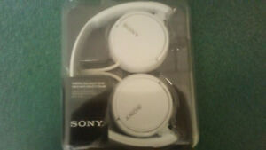 Sony on ear headphones.  New In Box