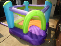 Chidlrens/Kids/Toddlers Bouncy Castle INCLUDES BLOWER!!! TOYS BABY FUN GARDEN SUMMER NOT TRAMPOLINE