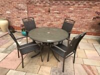 Garden Furniture Set - Table and 4 Chairs - £35 ono