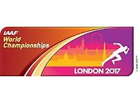 Three Adult IAAF World Athletics Championship Tickets Sat 5th August 2017 Morning Session Category B