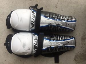 Bauer hockey knee pads size 11