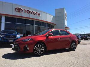 2017 Toyota Corolla SE, UPGRD PKG, HEATED STEERING, POWER MOONRO