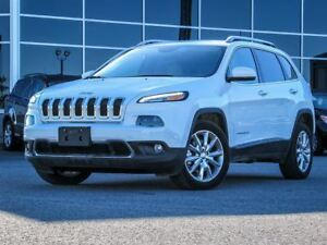 2016 Jeep Cherokee Limited FWD| Nav.| Heated Leather Interior