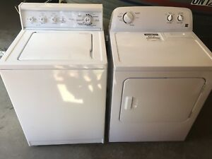 Kenmore washer and fairly new dryer
