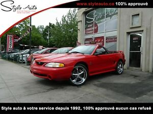1997 Ford Mustang COBRA CONVERTIBLE