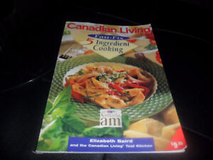 canadian living fast fix 5 ingredient cooking