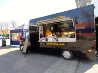 Fish and Chip Van for sale. Fiat Ducatto. Fantastic business opportunity, ready to go!