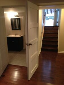 Sep 1/2017-Inclusive: Huge Lux.1 bdr. Basement Apt/Sep. Entrance