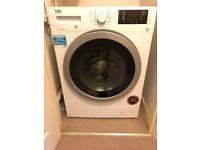 Beko Washer Dryer - Excellent Condition (WDX8543130W)