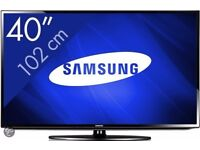 40 INCH SAMSUNG LED FULL HD TV WITH BUILT IN FREEVIEW**CAN BE DELIVERED**