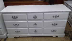 7 Professionally painted vintage dresser from $179 -$209 each