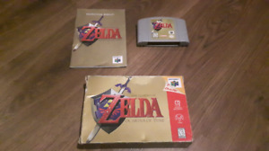Legend of Zelda Ocarina of Time for N64