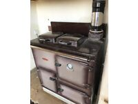 RAYBURN ROYAL OIL FIRED RANGE IDEAL FOR UPGRADING
