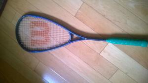 Wilson Ultra Hammer Squash Racquet  great racquet, strong frame