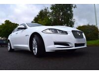 Excellent Condition Jaguar XF Luxury In White - Superb Car