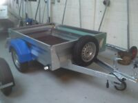 Mersea GP750 6x4 Box Trailer