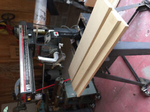 Both sold pending p/Reduced! Radial arm saw & planer jointer $50