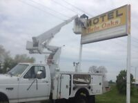 Sign & Lighting company for hire