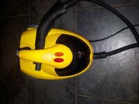 Steam Cleaner by Team International STC6717, with instructions and all accessories