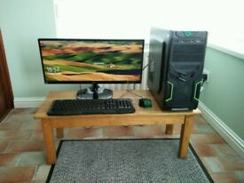 Starter Gaming Setup - GTX 1050 - AMD Fx 6300 - 16GB RAM - 120GB SSD - Win 10 -