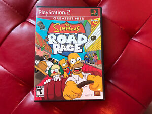 Playstation 2 The Simpsons Road Rage