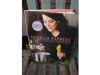 Nigella Express hardback cookery book