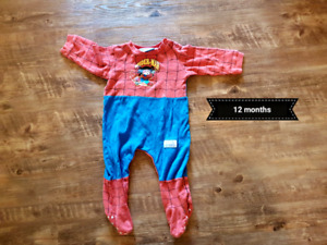 Boys onesie pajamas 12 months up to 24 months