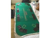 Table top poker table £50