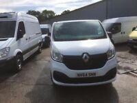 RENAULT TRAFIC SL27 BUSINESS + DCI.66K MILES.AIR CON.ONE OWNER
