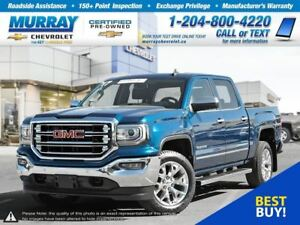 2017 GMC Sierra 1500 SLT *Keyless Entry, Remote Start, Rear View